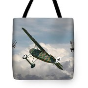 Ww1 - Spoiled For Choice Tote Bag by Pat Speirs