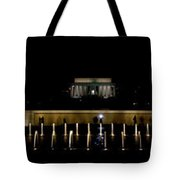 Ww2 And Lincoln Memorials Tote Bag