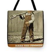 Wwi Farming C1915 Tote Bag