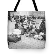 Wwi Refugees, C1914 Tote Bag