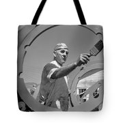 Wwii Home Front Worker Tote Bag