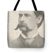 Wyatt Earp U. S. Marshal Tote Bag