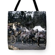 Wylie Coach Yellowstone National Park Tote Bag