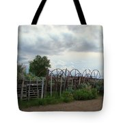 Wyoming Backroads 2 Tote Bag