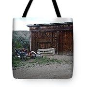 Wyoming Backroads Tote Bag