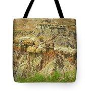 Wyoming Badlands Landscape Three Tote Bag