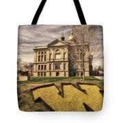 Wyoming Capitol Building Tote Bag