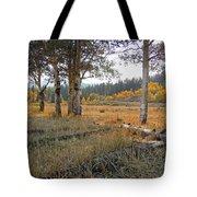 Wyoming Gold Tote Bag