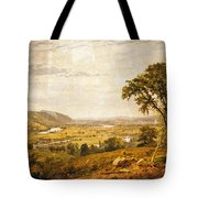 Wyoming Valley. Pennsylvania Tote Bag