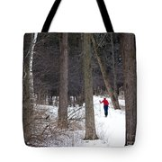 X-country Mendon Ponds Tote Bag