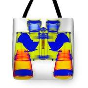 X-ray Of Binoculars Tote Bag
