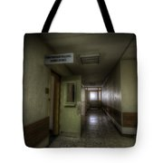 X Ray Waiting Room. Tote Bag