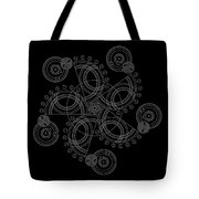 X To The Sixth Power Inverse Tote Bag