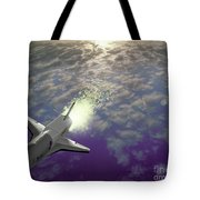 X34 Aircraft Tote Bag by Nasa