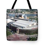 Xcel Energy Center In St. Paul Minnesota Tote Bag