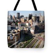 Xcel Energy Center St. Paul Minnesota Tote Bag