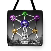 Xmas Atomium  Tote Bag