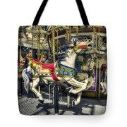 Xmas Carousel Tote Bag