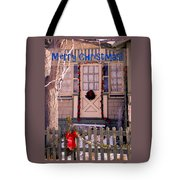 Xmas House 1 Tote Bag