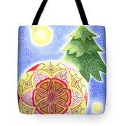 X'mas Ornament Tote Bag