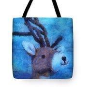 Xmas Reindeer 01 Photo Art Tote Bag