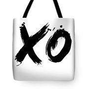 Xo Poster White Tote Bag