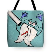 Xrayed Tooth Tote Bag