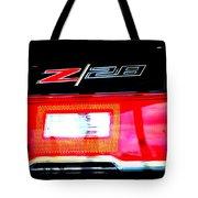 Xxl Chevrolet 2014 Z28 Tail Light Tote Bag