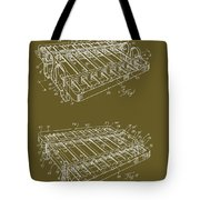 Xylophone Patent 1949 Tote Bag