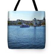Yacht And Beach Club Wdw Tote Bag