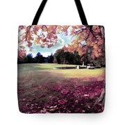 Yaddo Tree Tote Bag