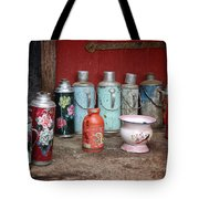 Yak Butter Thermoses Tote Bag