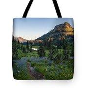 Yakima Peak At Sunrise Tote Bag