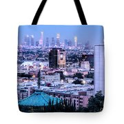 Yamashiro View Of La Tote Bag