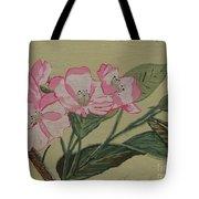 Yamazakura Or Cherry Blossom Tote Bag