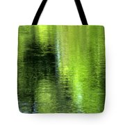 Yamhill River Abstract 24831 Tote Bag