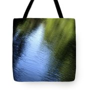Yamhill River Abstract 24849 Tote Bag