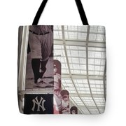 Yankee Old Timers Flags Tote Bag