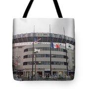 Yankee Stadium 1976 - 2008 Tote Bag