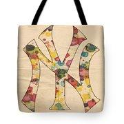 Yankees Vintage Art Tote Bag