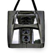 Yaquina Bay Bridge - Series C Tote Bag