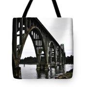 Yaquina Bay Bridge - Series D Tote Bag