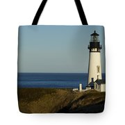 Yaquina Head Lighthouse 4 D Tote Bag