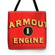 Yarmouth Engine 1 Tote Bag