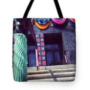 Yarnamention At The Perelman Building Tote Bag by Katie Cupcakes