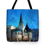 Yaroslavsky Railway Station Tote Bag