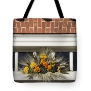 Yarrow And Lotus Arrangment Tote Bag