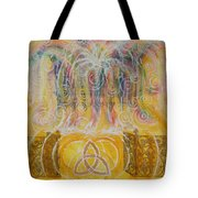 Yaweh El Shaddai Top Canvas Detail Tote Bag