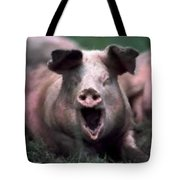 Yawn No I Am Not Ready For Bacon Yet Tote Bag