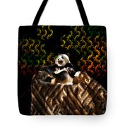 Yawning Panda  Tote Bag